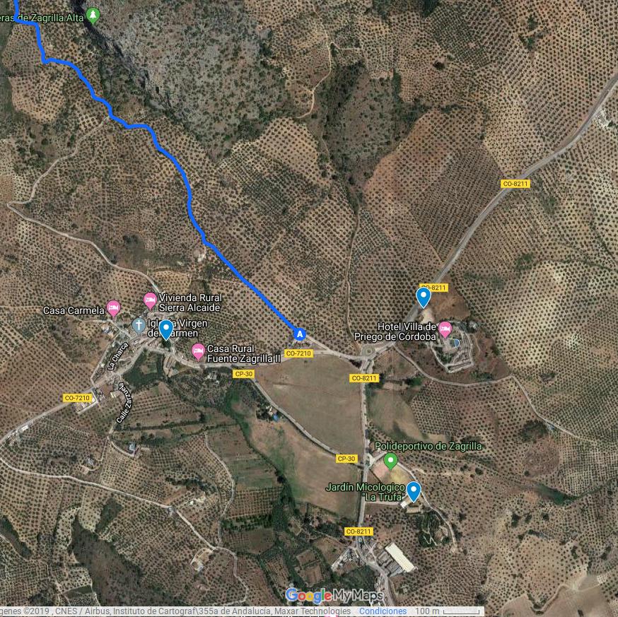 Mapa interactivo de Recursos turísticos